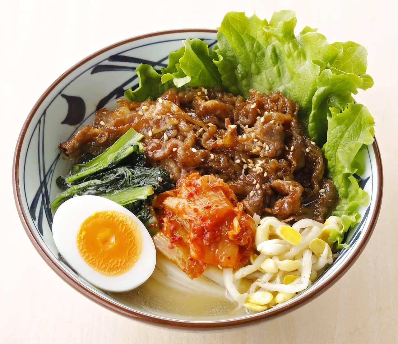 丸亀製麺「牛焼肉冷麺」