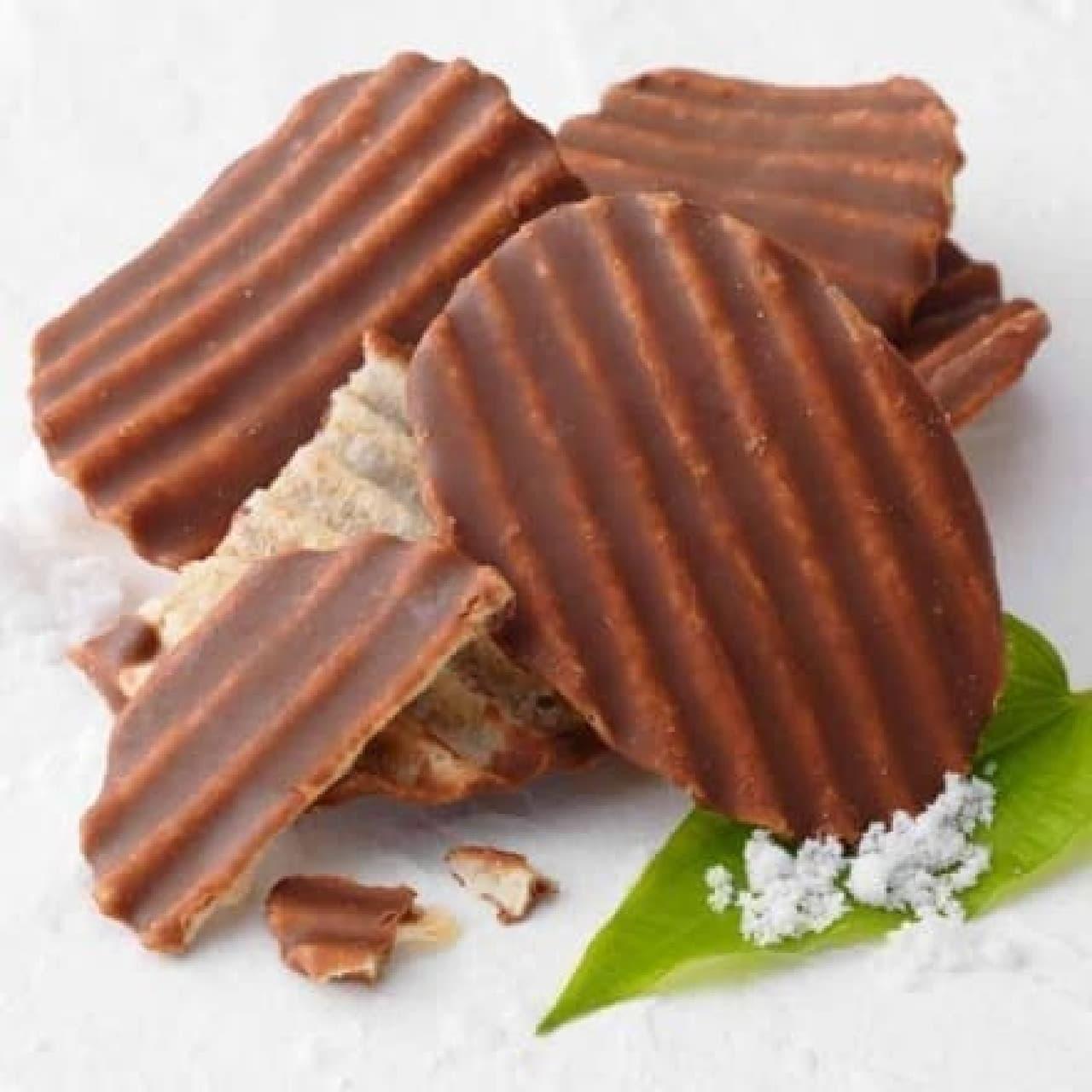 ロイズ石垣島 ポテトチップチョコレート[石垣の塩]