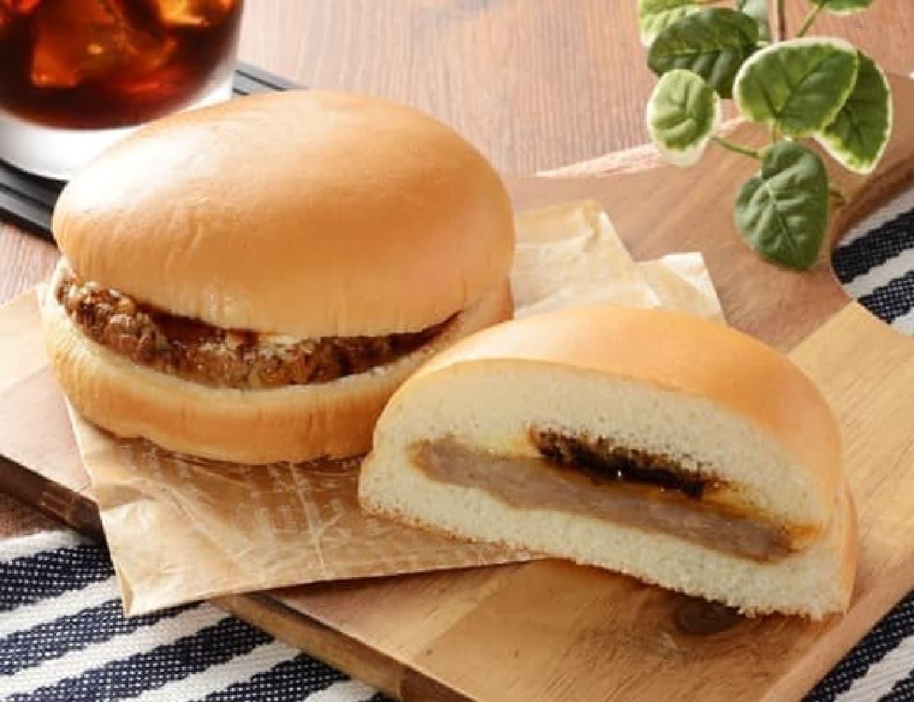 ローソンの「てりやきハンバーガー」