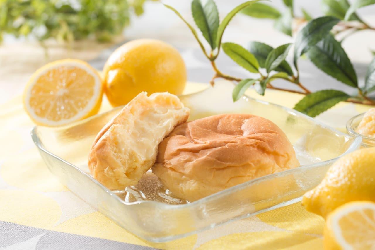 八天堂「ムーミンコラボ 広島レモンくりーむパン」