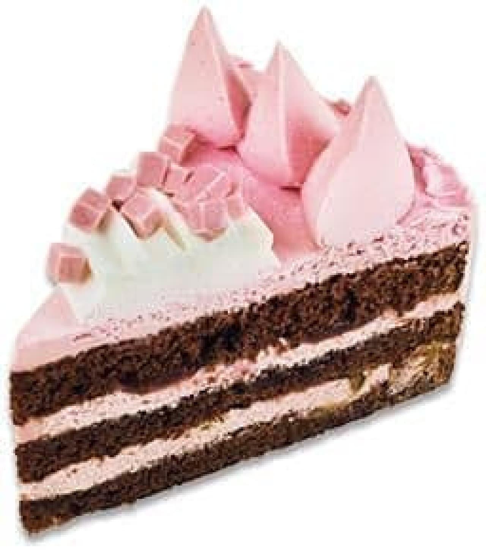 不二家洋菓子店「フランボワーズチョコケーキ」
