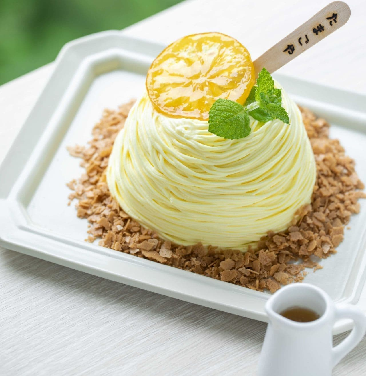 たまご専門店 TAMAGOYA ベーカリーカフェ「巣ごもりパンケーキ ~レモン~」