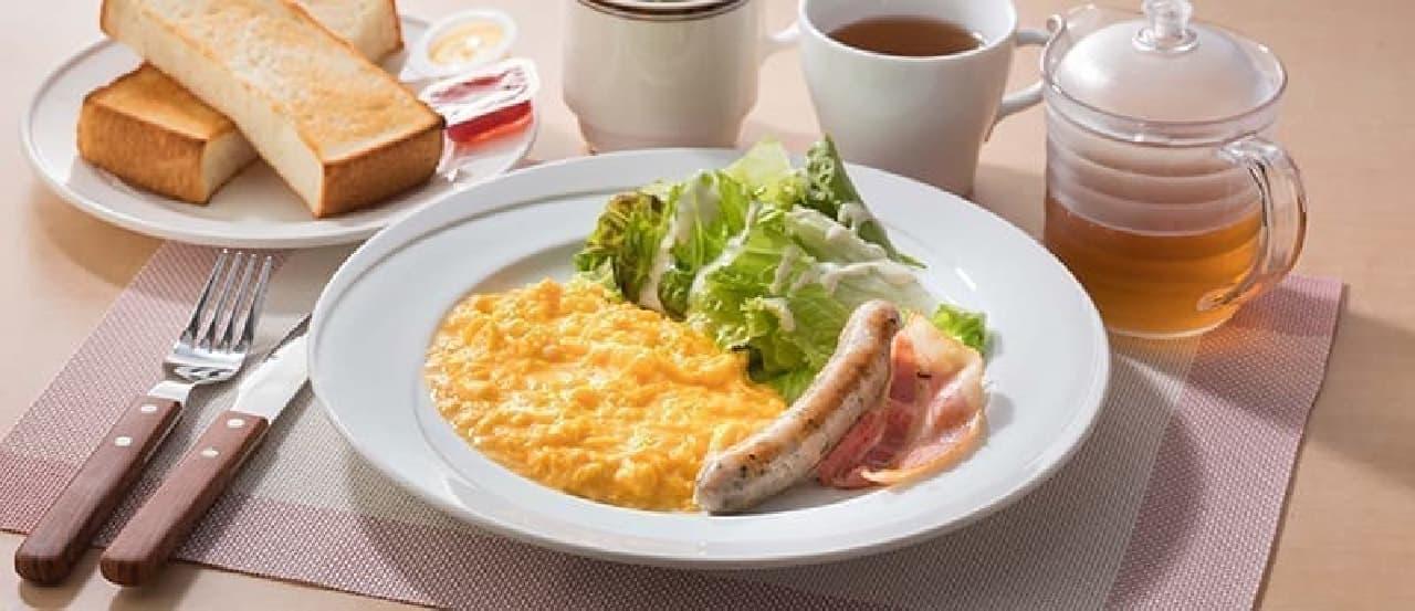 ココスの朝食メニューがリニューアル