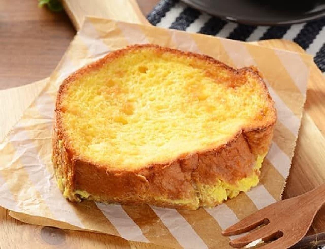 ローソン「バター香るふわふわとろとろのフレンチトースト」