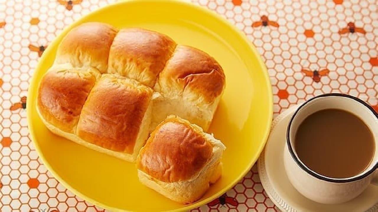 ローソンストア100の「VLちぎれるはちみつパン」