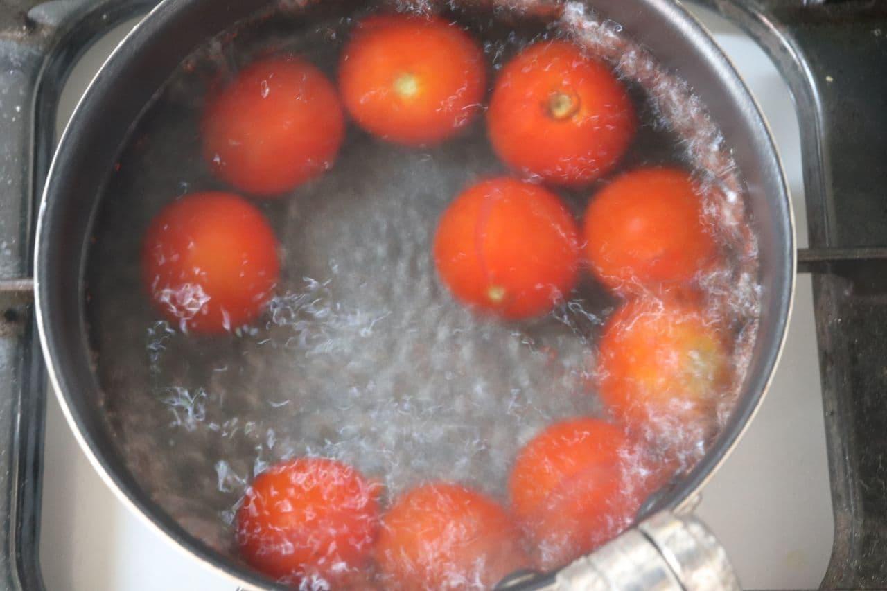 ミニトマトの和風マリネ