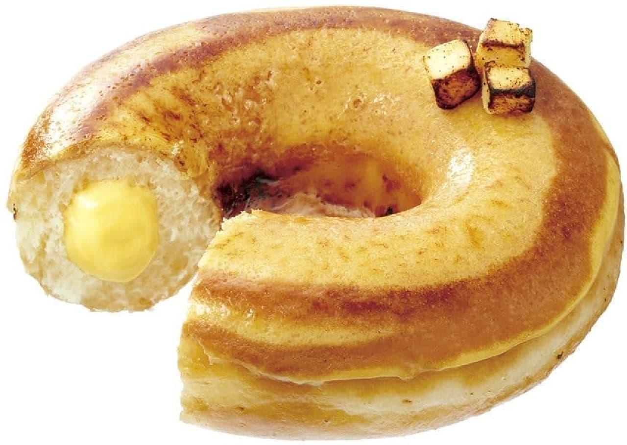 クリスピー・クリーム・ドーナツの新作「バスク風 チーズケーキ」