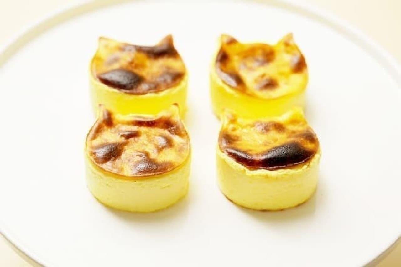 バスク風チーズケーキ「にゃんチー」