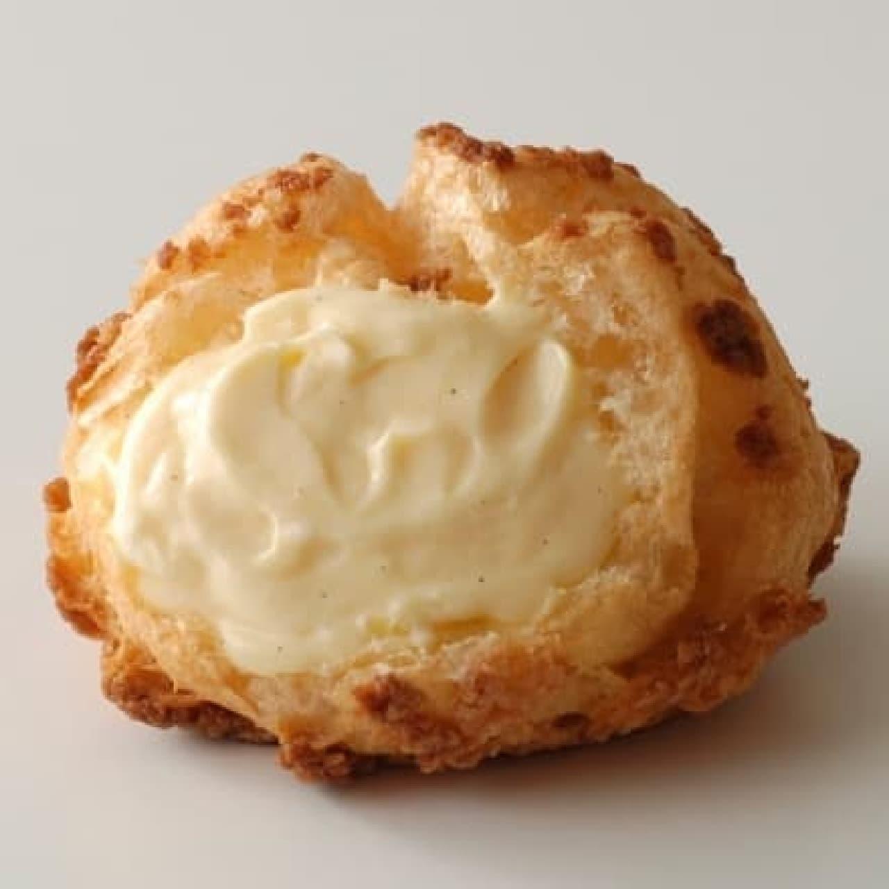 ビアードパパの「クッキーシュー(カスタード)」