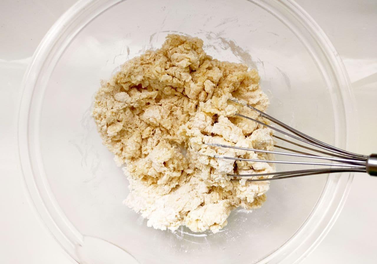 豆腐スコーンの簡単レシピ