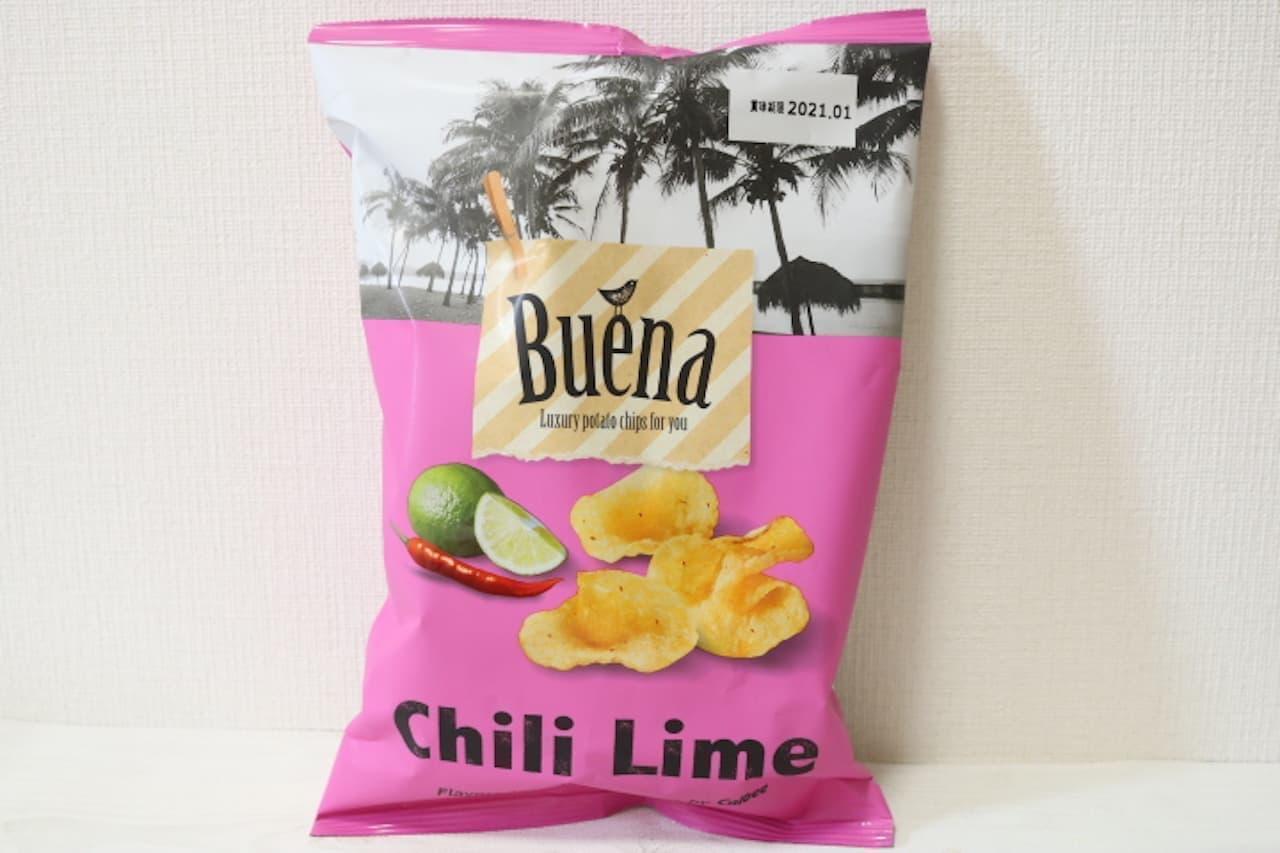 ローソン「Buena(ブエナ)ポテトチップス チリライム」