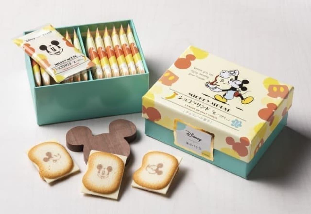 Disney SWEETS COLLECTION by 東京ばな奈『ミッキーマウス/ショコラサンド「見ぃつけたっ」』