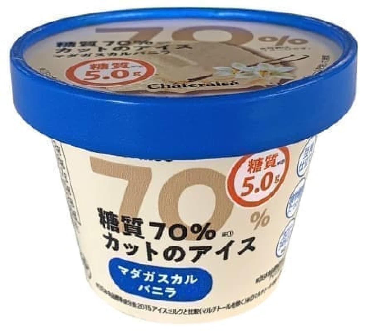 シャトレーゼ「糖質70%カットのアイス」