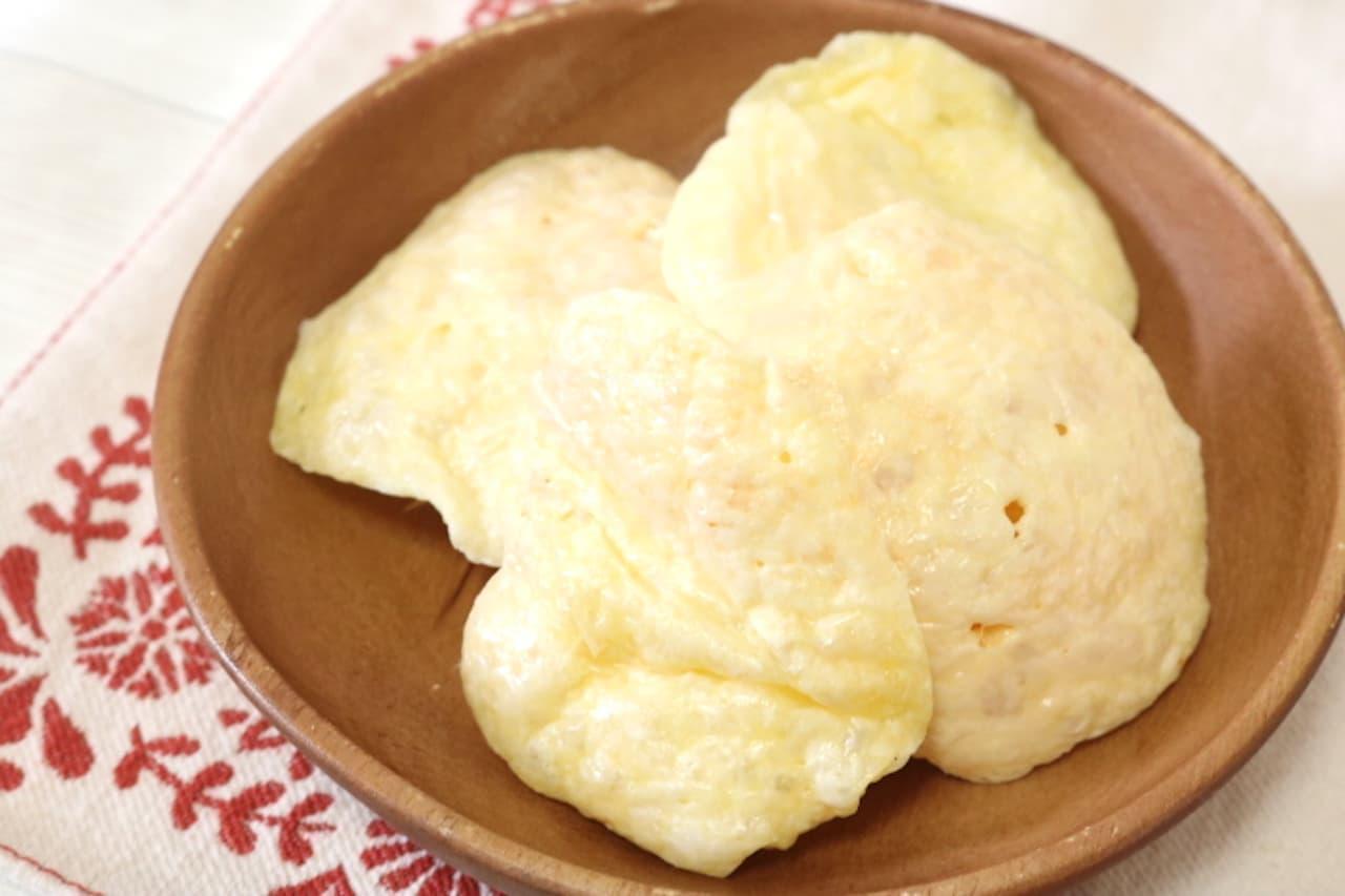 レシピ「レンチンプロセスチーズ」