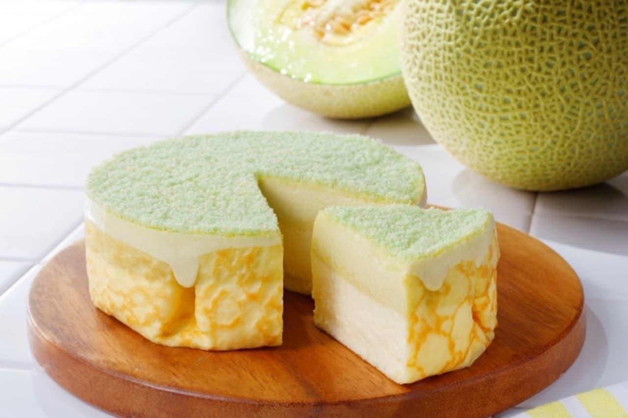 東京ミルクチーズ工場「ミルクチーズケーキ メロン」EXPASA海老名限定で