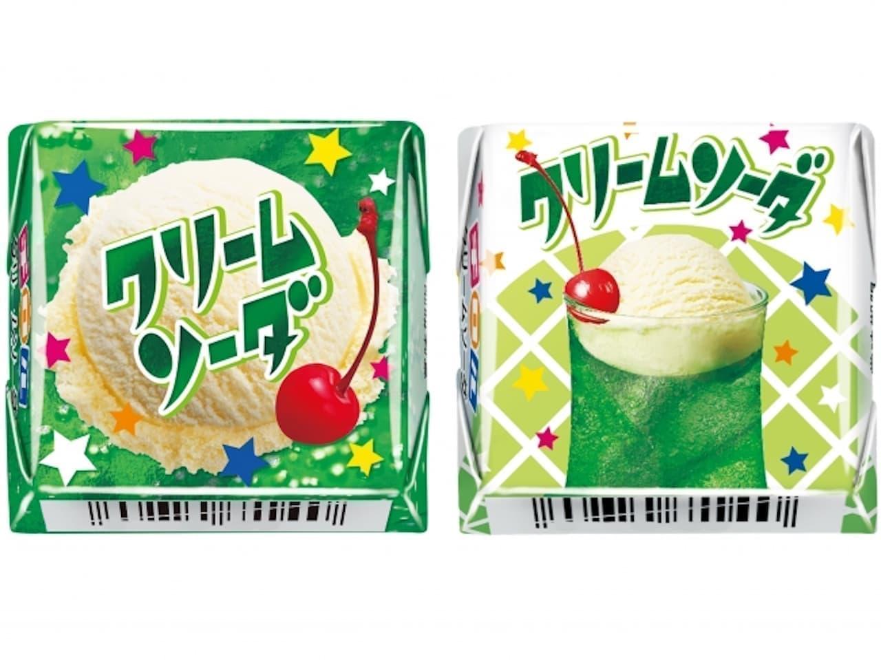 新商品「チロルチョコ〈クリームソーダ〉」