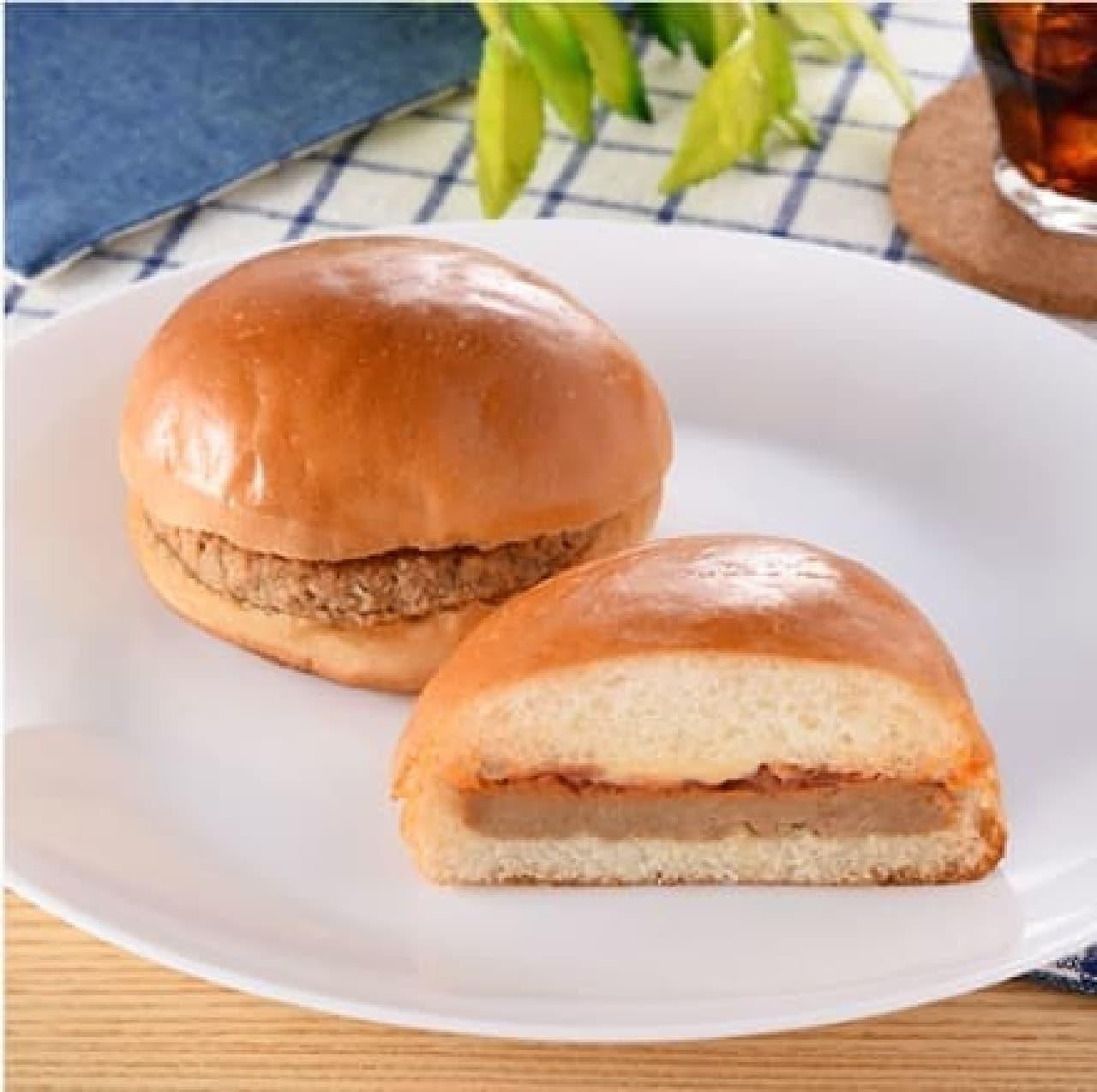 ファミリーマート「ハンバーガー」