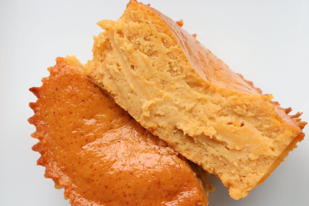 セブンキャラメルバスクチーズケーキ