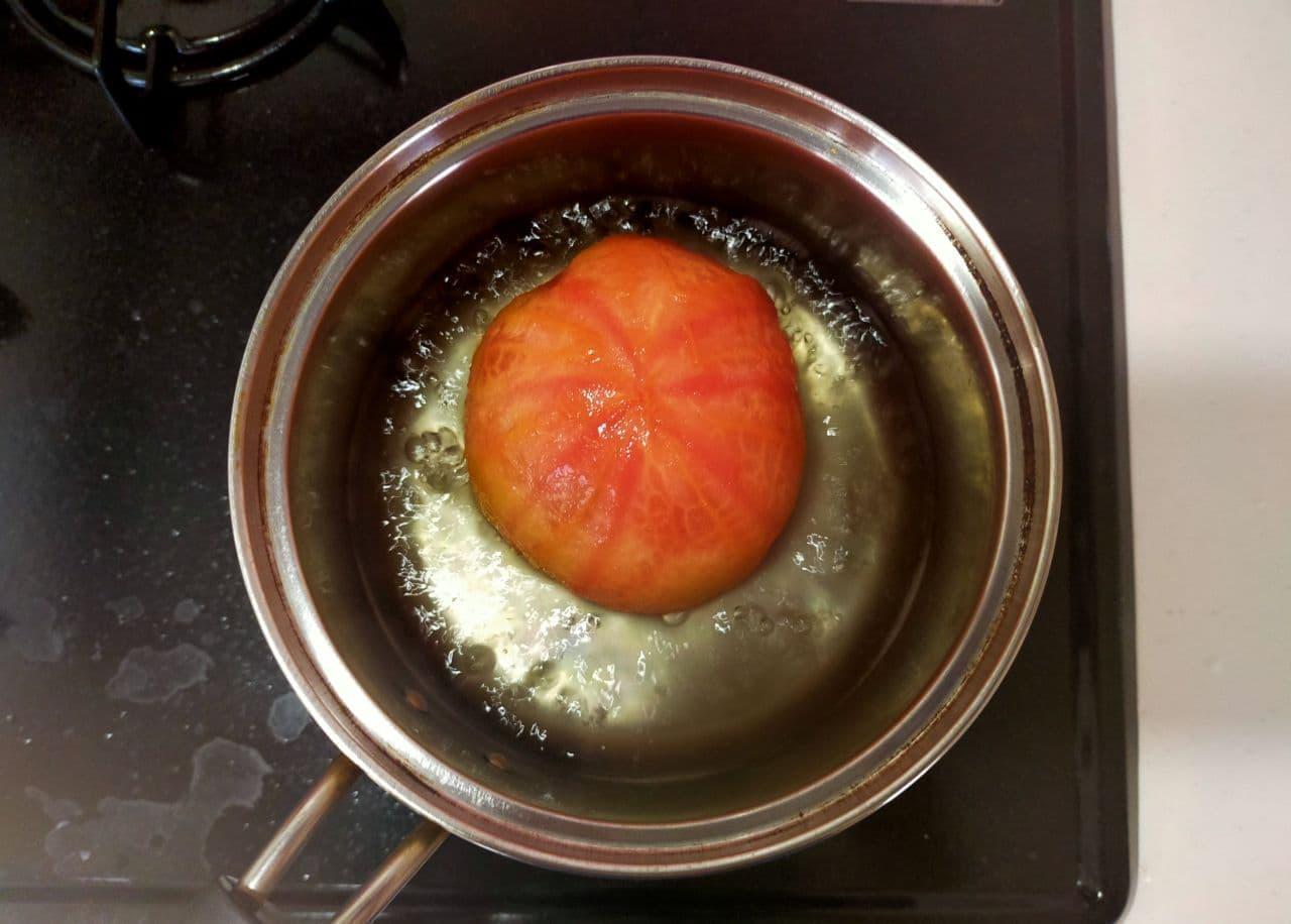 さっぱりレシピ「トマトのお浸し」