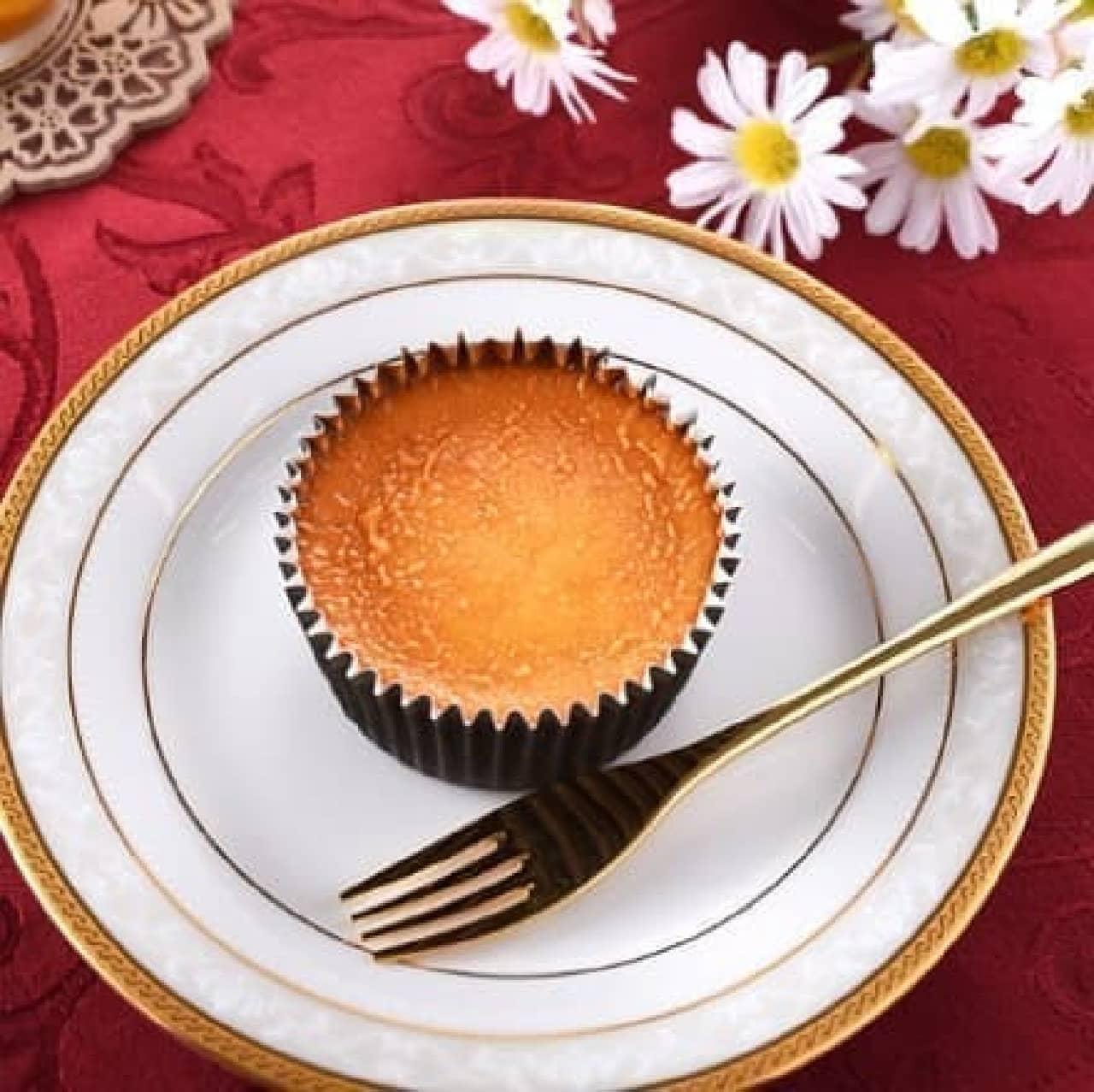 ファミリーマート「バスクチーズケーキ」