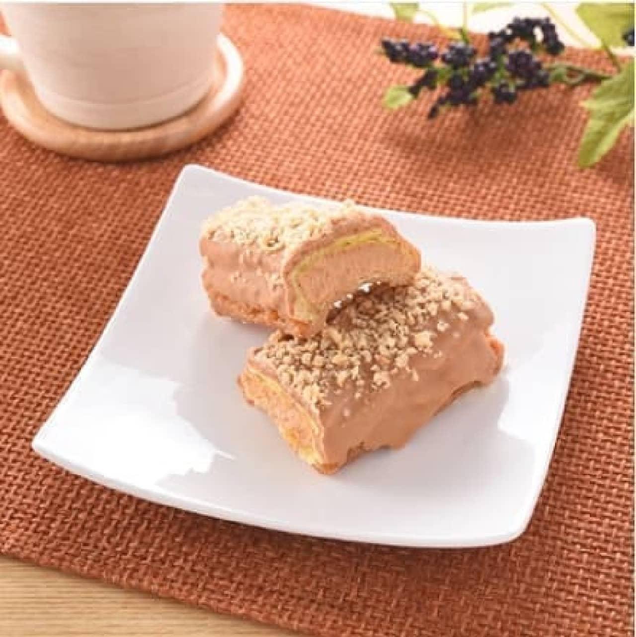 ファミリーマート「サクッと食感のキャラメルスティックドーナツ」