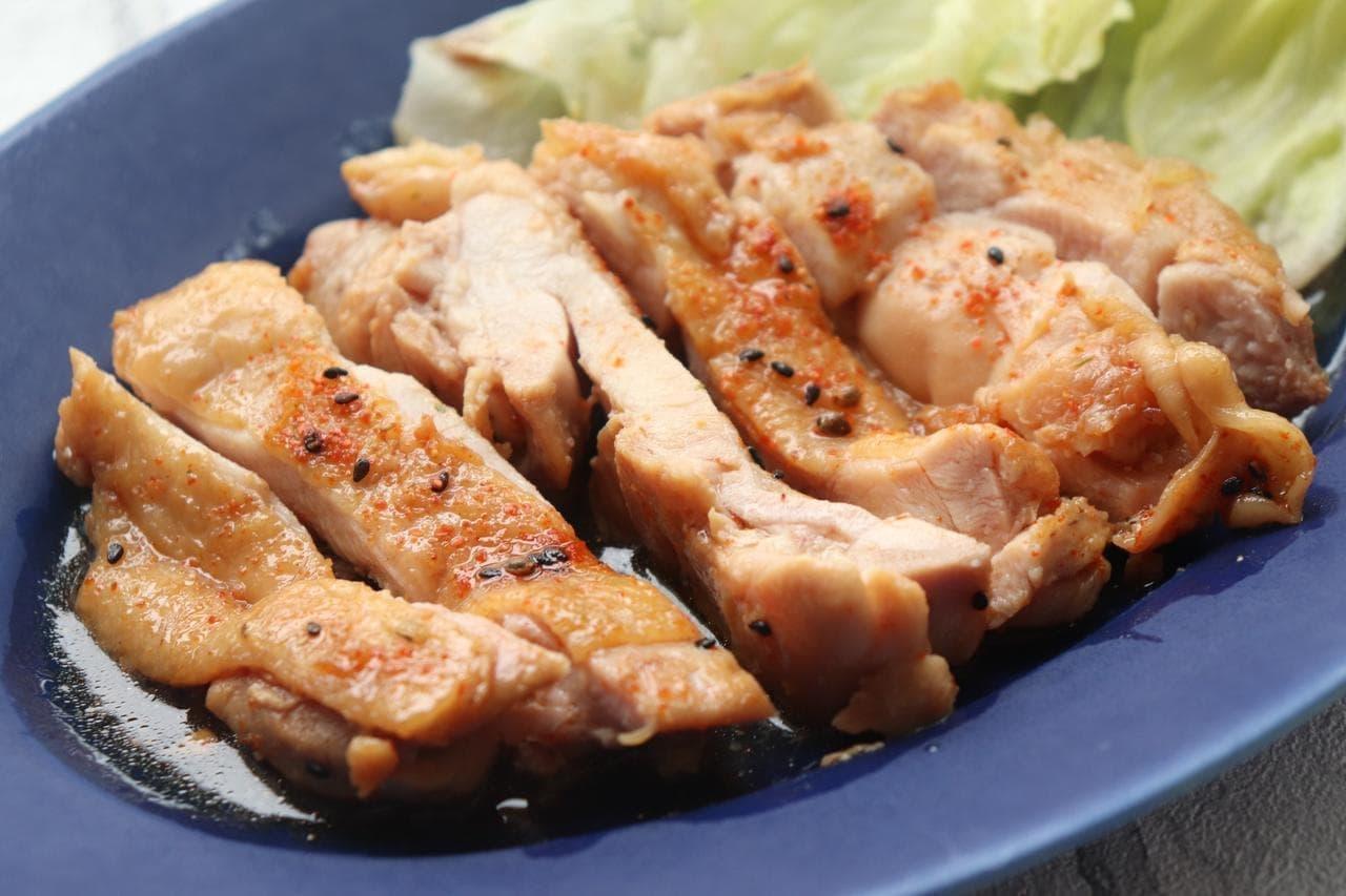 鶏の七味照り焼きレシピ