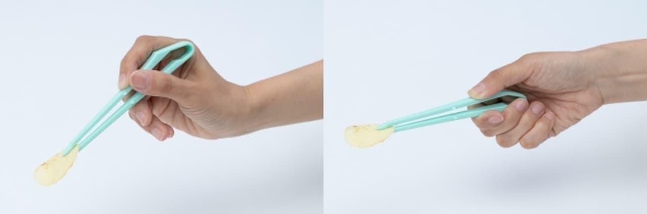 指を汚さずお菓子が食べられる「ポテトングミニ」