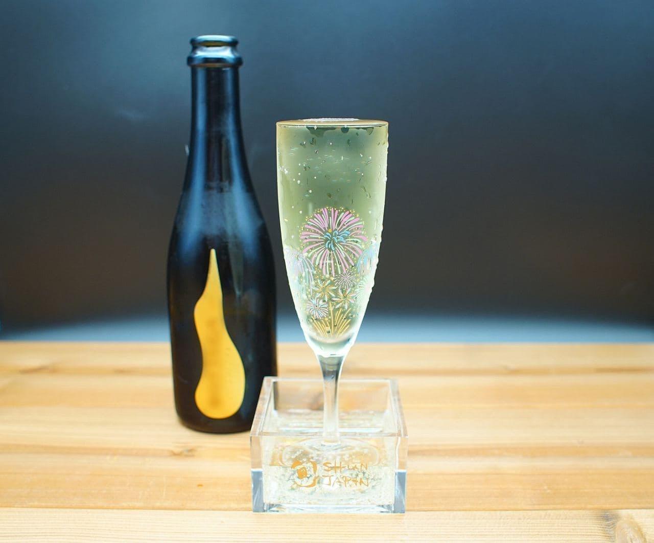 冷感花火盃&グラス「夜空を彩る希望の光」
