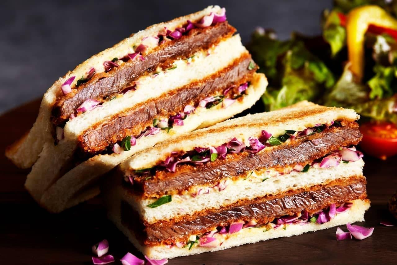 嵜本の和牛サンドイッチ