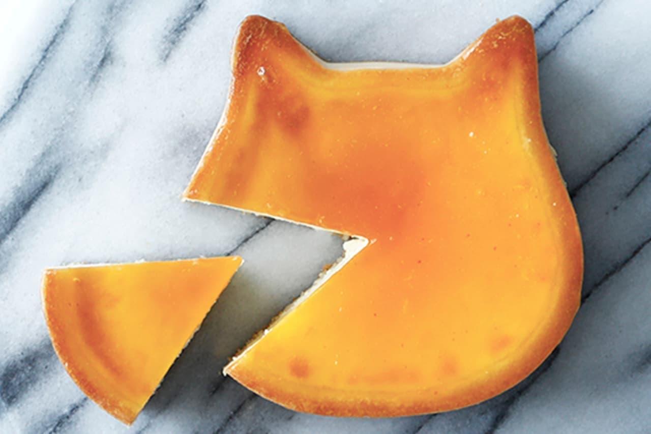 ねこねこチーズケーキとパステルの「ねこねこチーズケーキ」