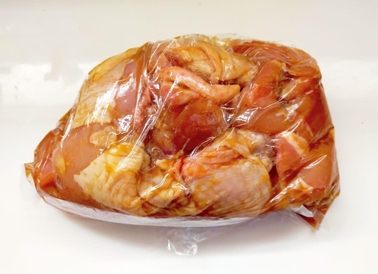 レンジで簡単「鶏のから揚げ おろしのせ」