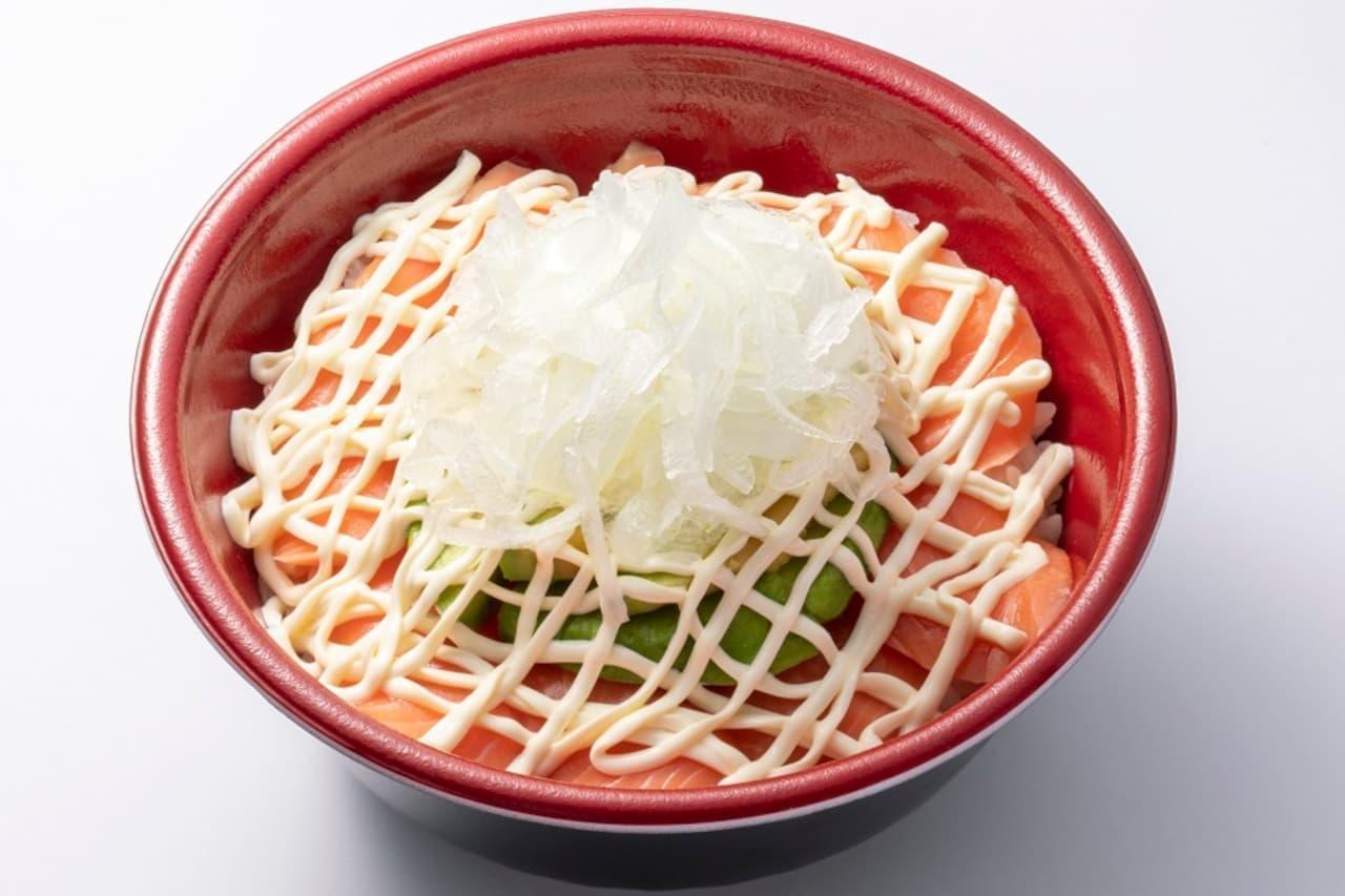 はま寿司に「サーモンアボカド丼」
