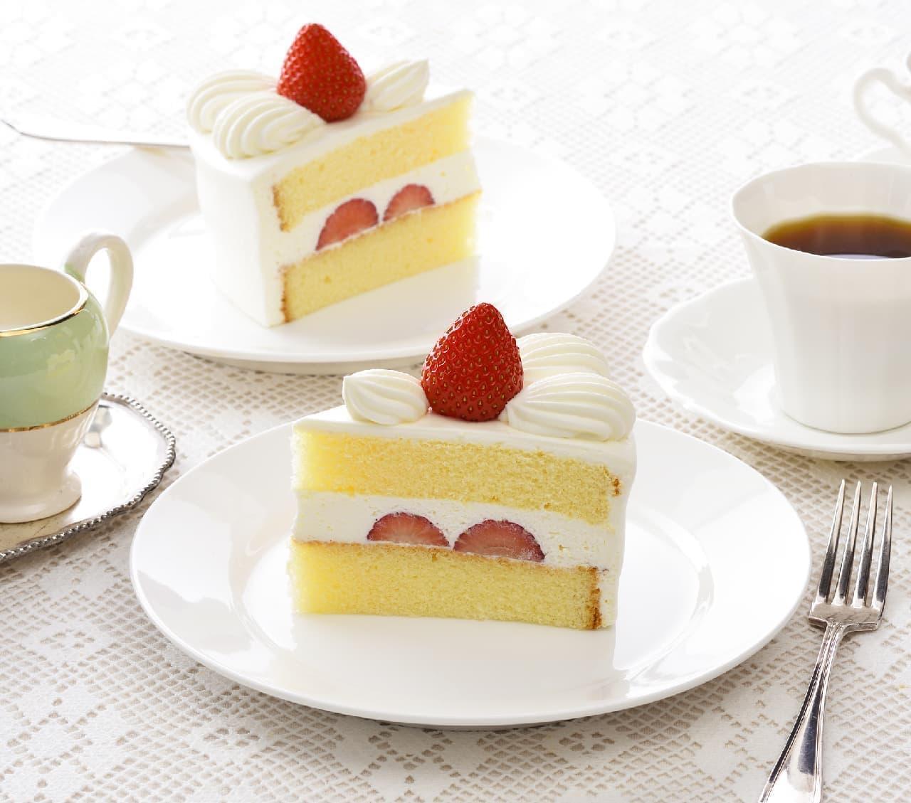 銀座コージーコーナー「苺のショートケーキ」がリニューアル