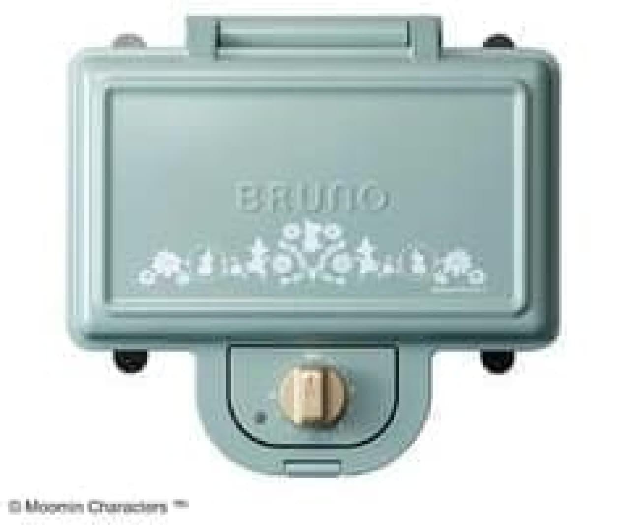 BRUNO ムーミンホットサンドメーカー ダブル