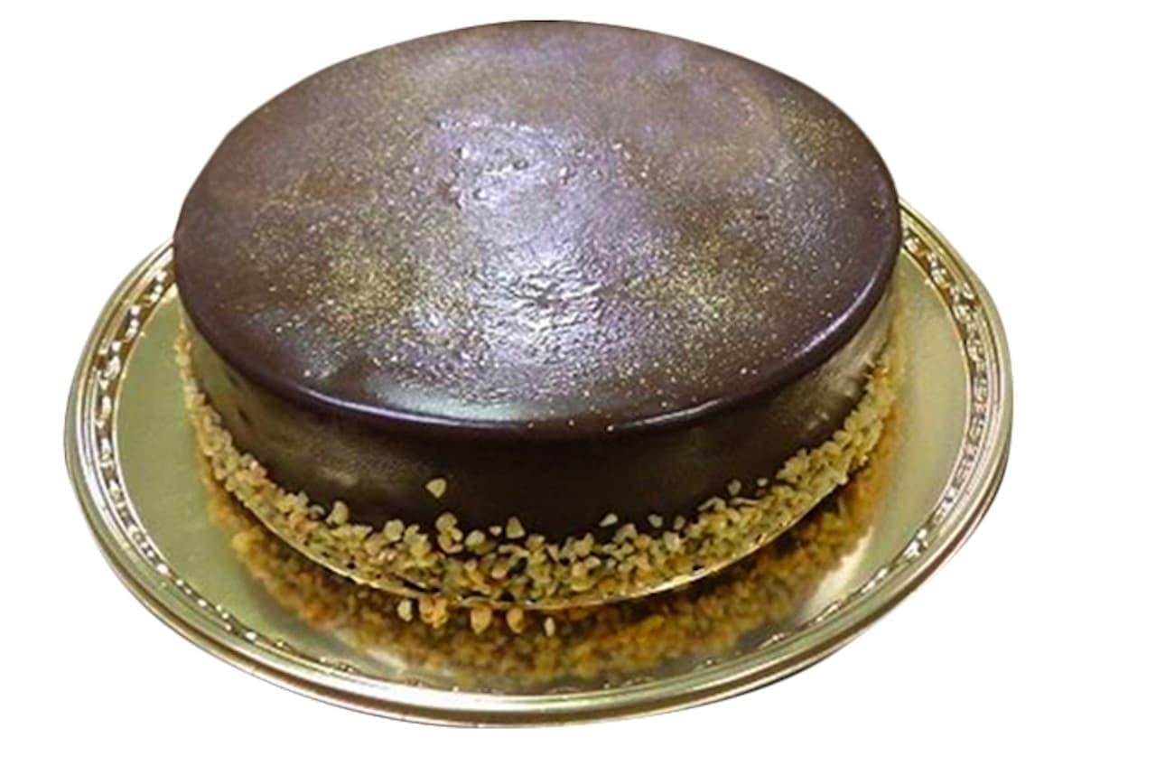 シャトーレゼ「ベルギー産クーベルチュール使用 濃厚ショコラデコレーション」