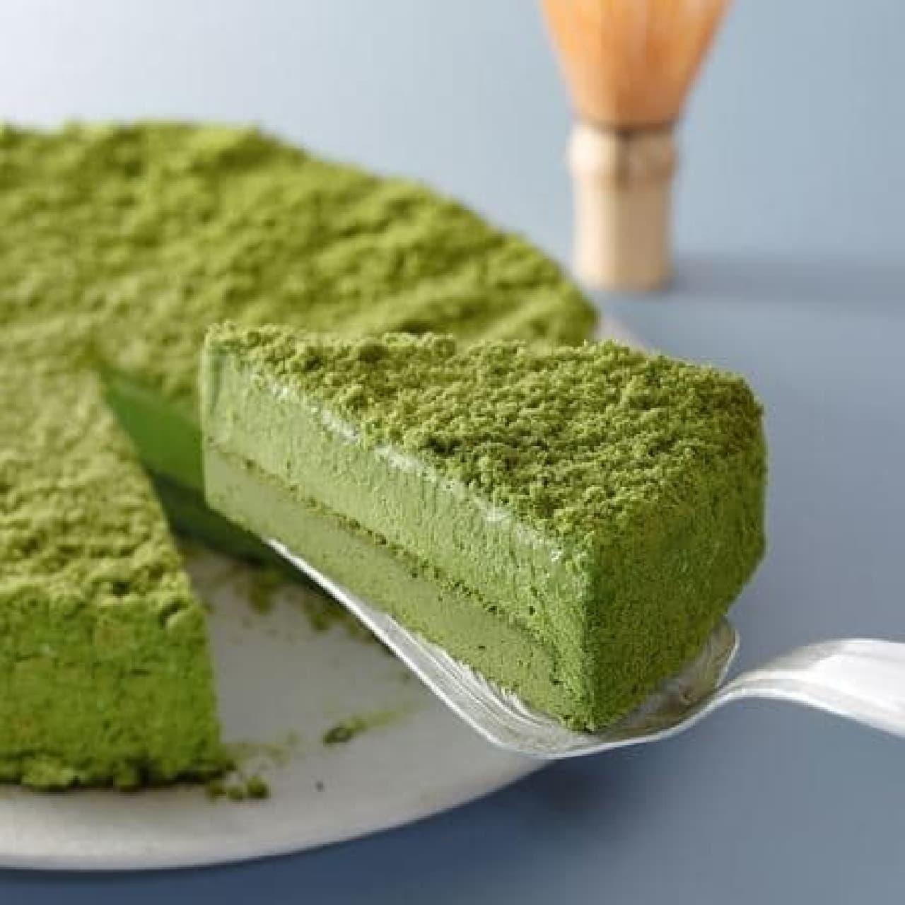 スターバックス「宇治抹茶ケーキ」