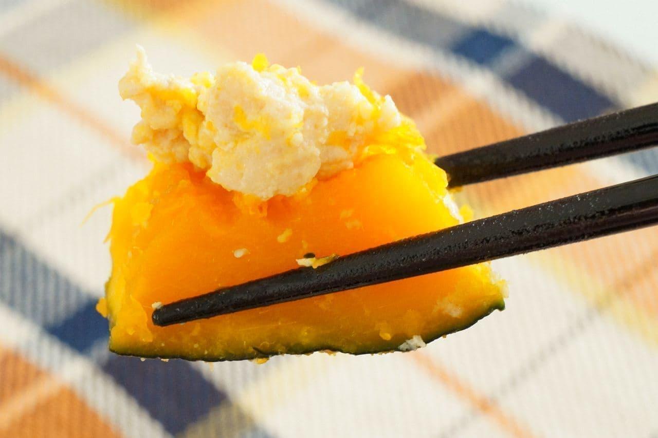 「かぼちゃのミルクそぼろ煮」のレシピ