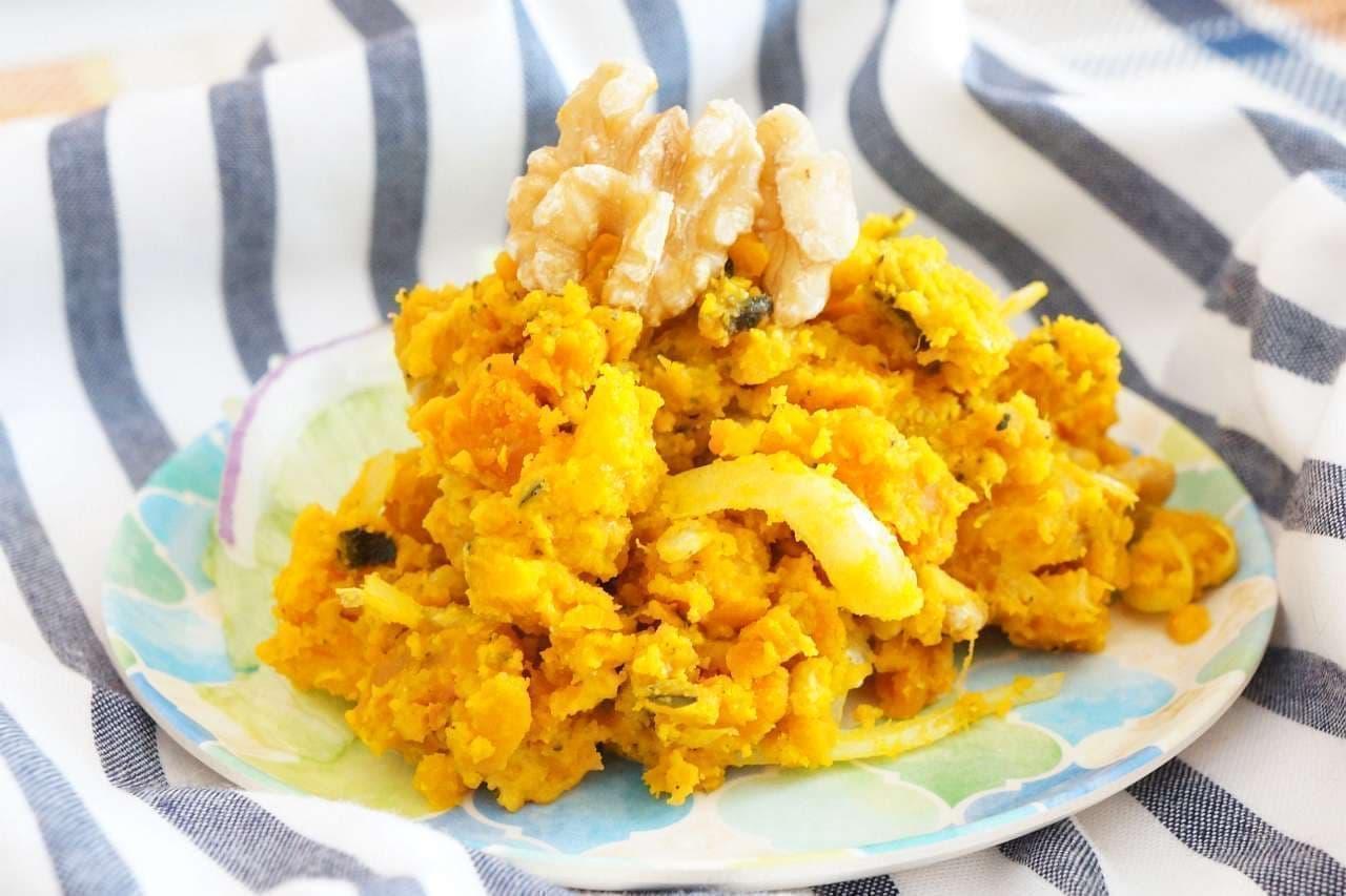 「かぼちゃのマヨサラダ」のレシピ