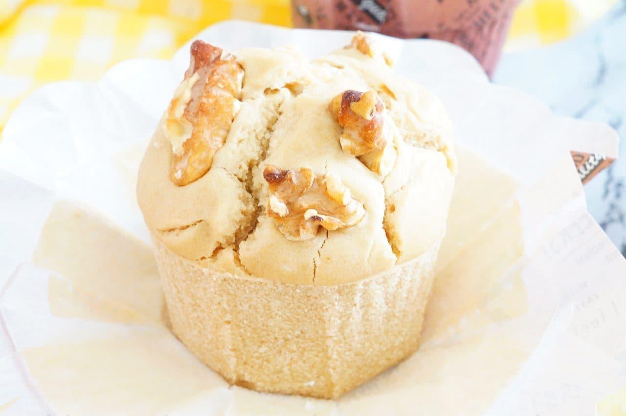 米粉レシピ「米粉のミルクティーマフィン」