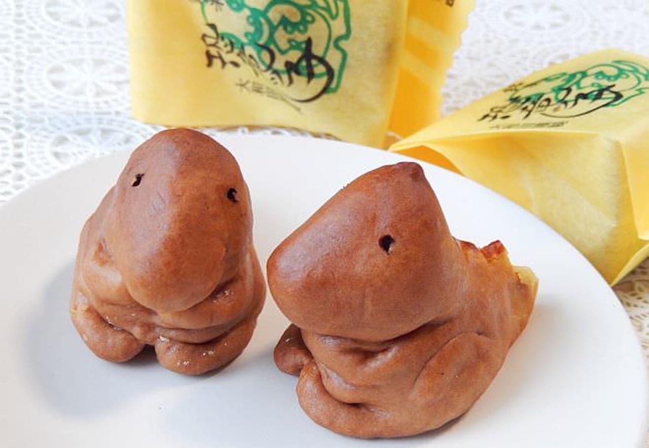 恐竜の形をしたお菓子「恐竜ッ子」