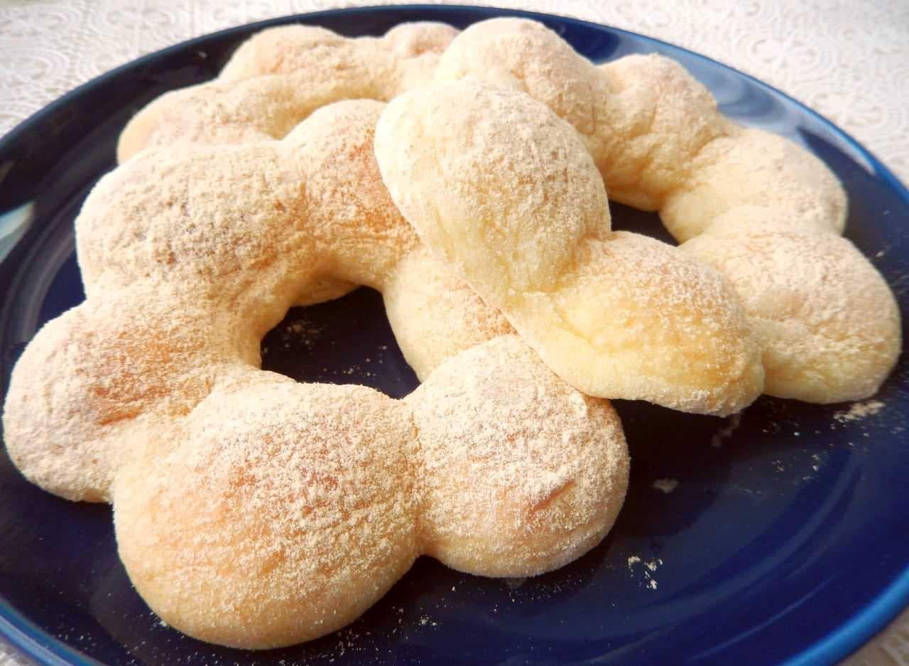 レシピ「もちもちドーナツ」