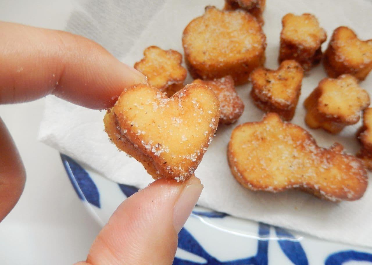 レシピ「高野豆腐のドーナツ」