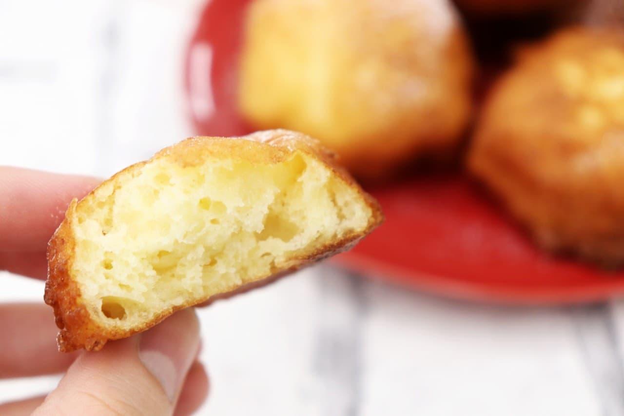 レシピ「豆腐ドーナツ」