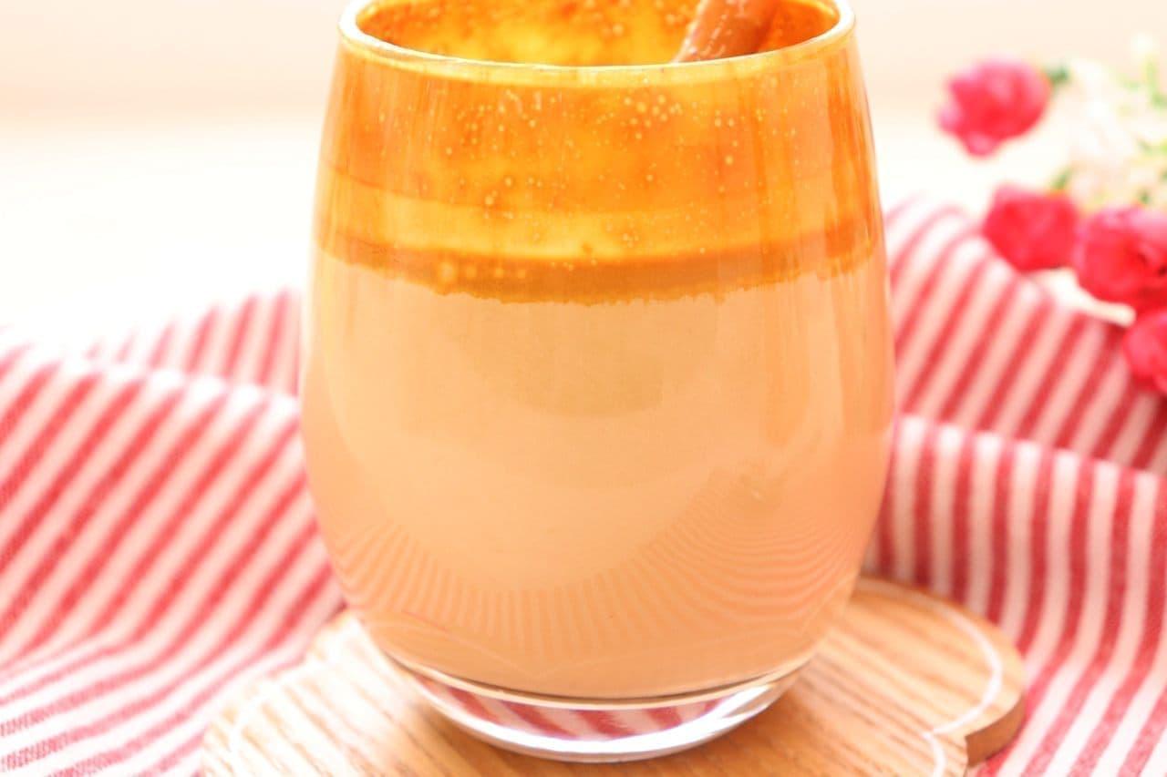 レシピ「タルゴナコーヒー」