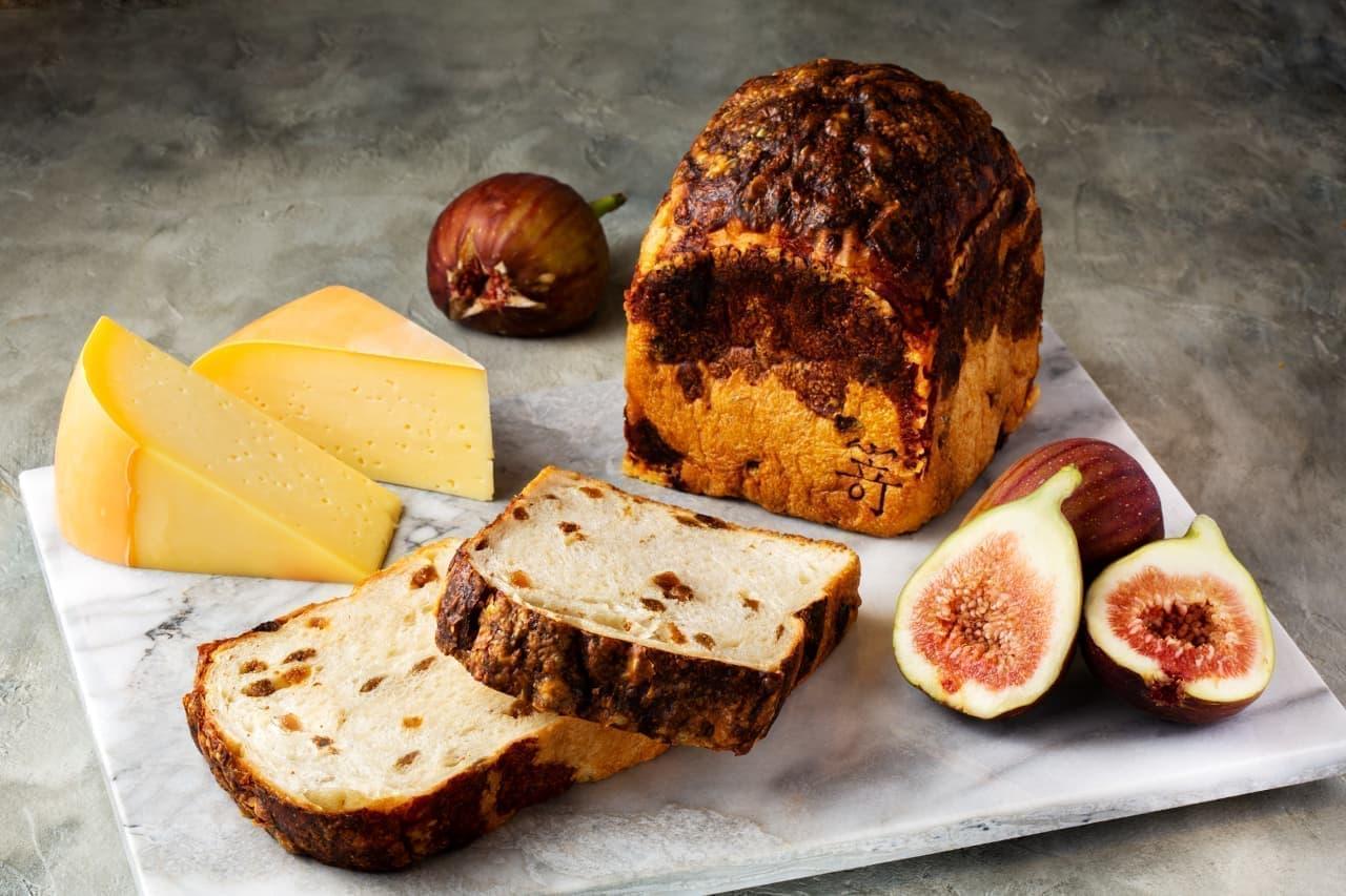 高級食パン「嵜本」に「白いちじくとゴーダチーズの食パン」