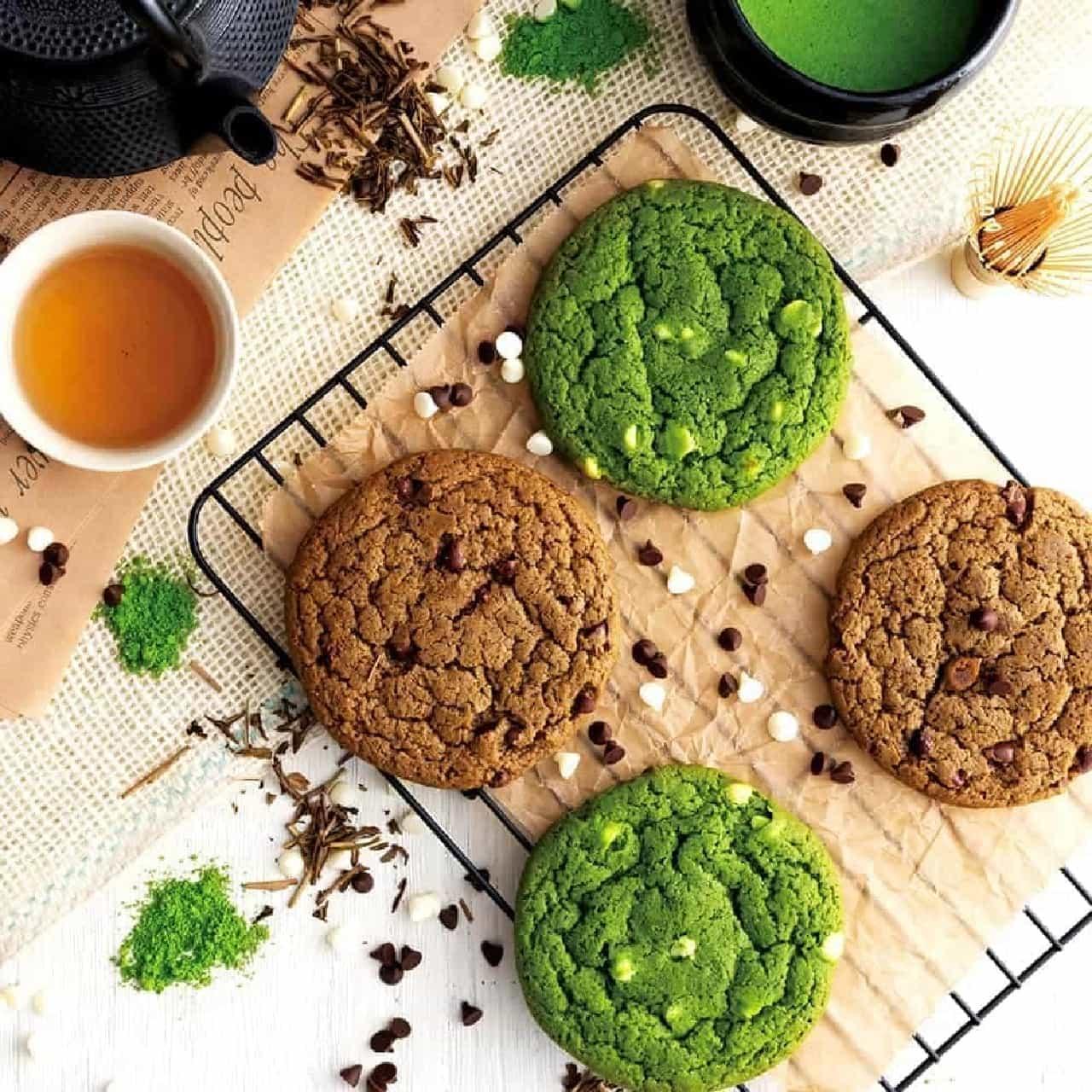 祇園辻利「ソフトクッキー(抹茶・ほうじ茶)」