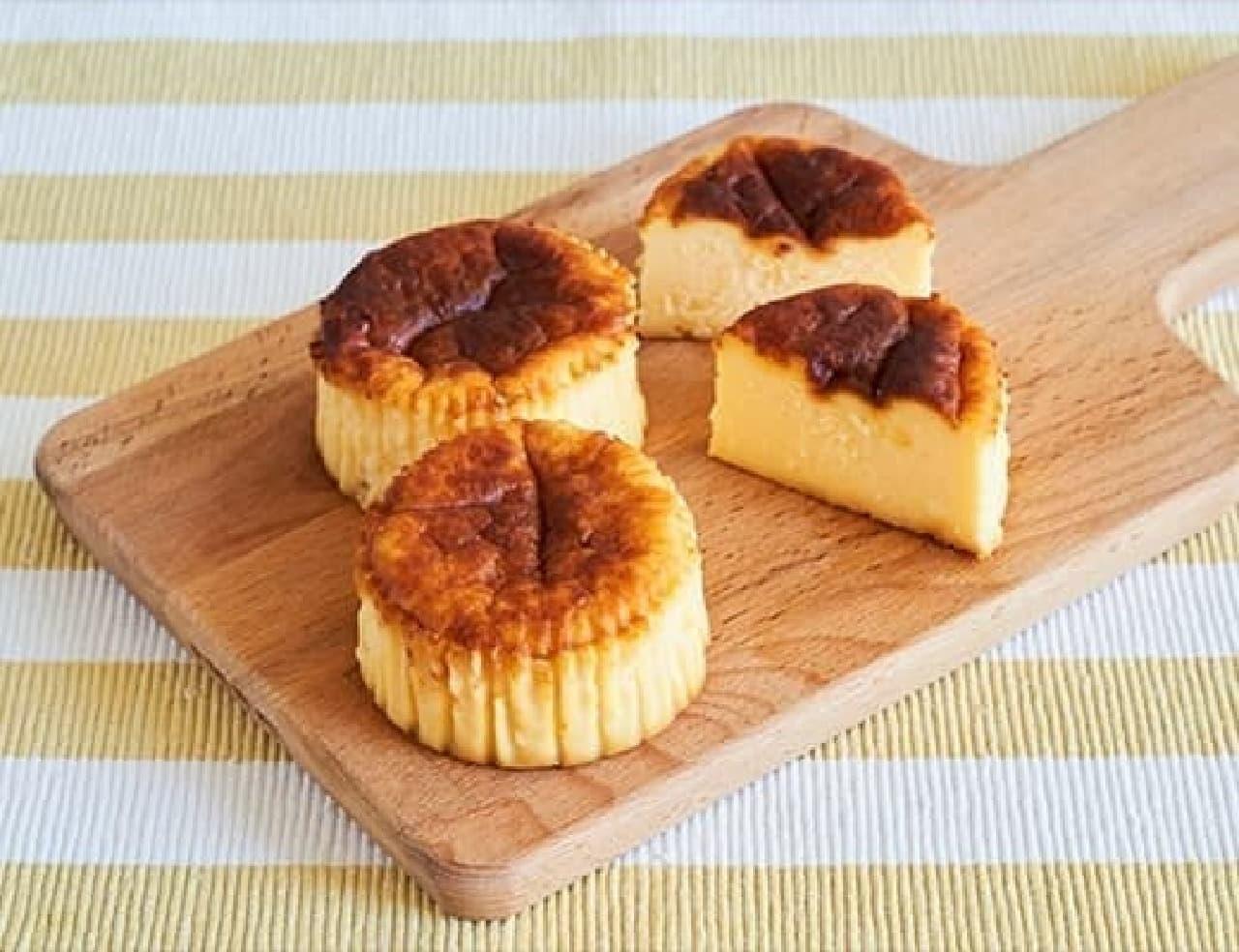 ローソン「バスチー -バスク風チーズケーキ-」