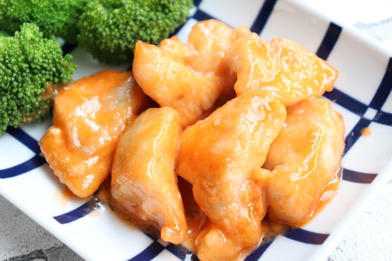 「鶏むね肉のエビマヨ風」のレシピ