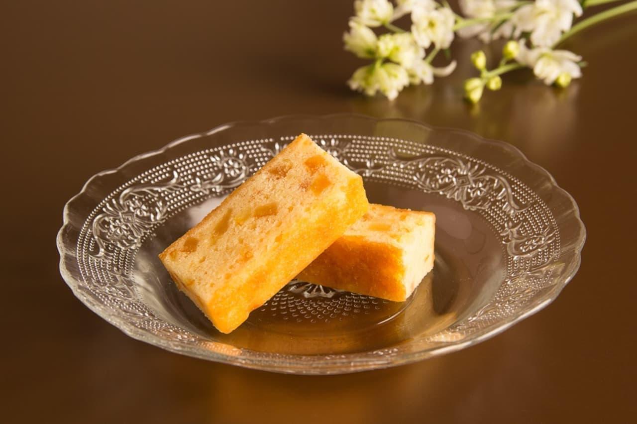 銀座ウエストの「柚子ケーキ」
