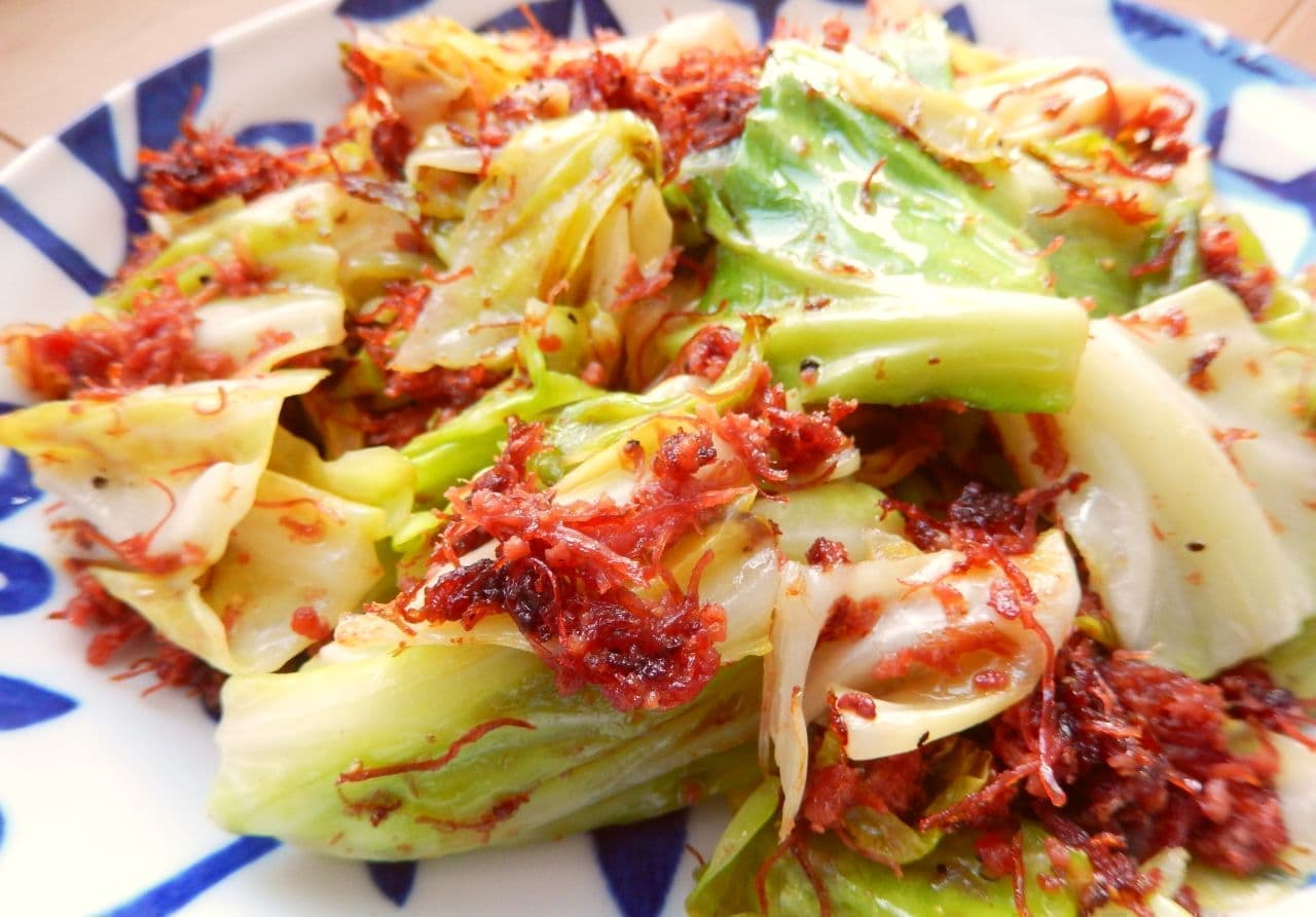 「キャベツのコンビーフ炒め」のレシピ